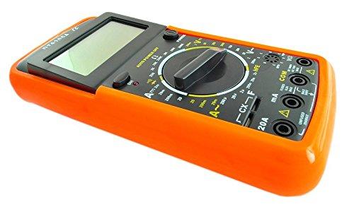 Autres Bricolage Dt9205 A Voltmètre Multimètre Numérique Ampèremètre Testeur De Capacité 9 V